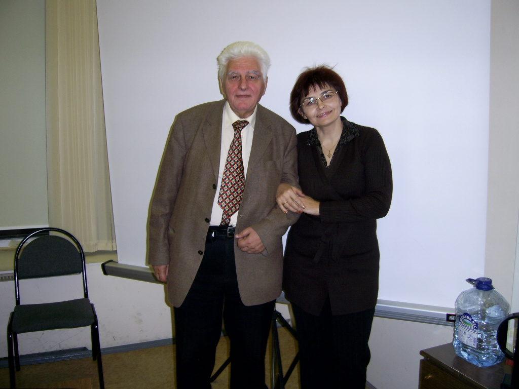 Я горжусь моими учителями- Юрий Павлович Адлер!